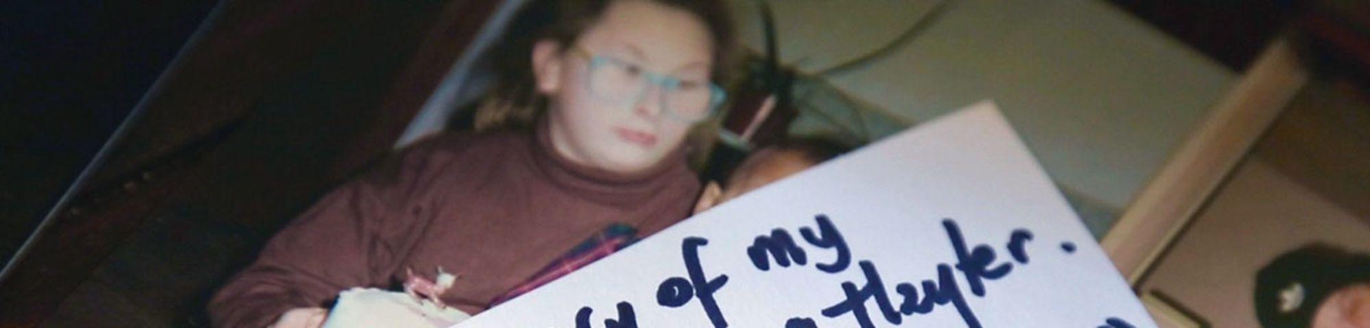 A still from Holly's winning documentary film, Gemma: My Murder.