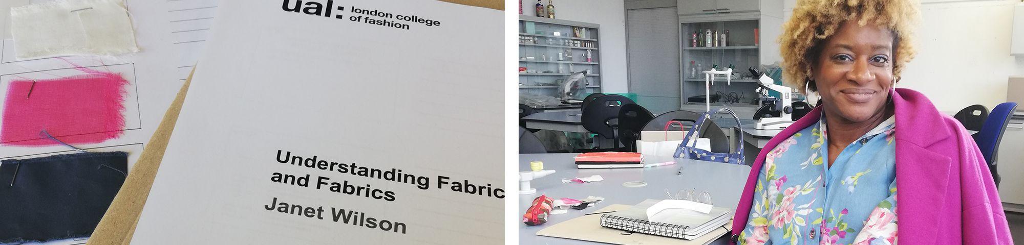 Geeghislaine Gazon Understanding Fabrics Banner LCF Short Course
