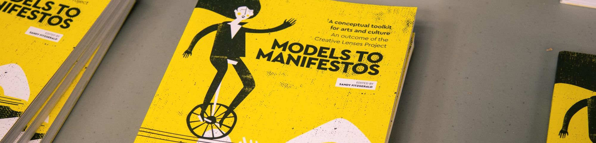 Image of textbook with text: Models for Manifestos