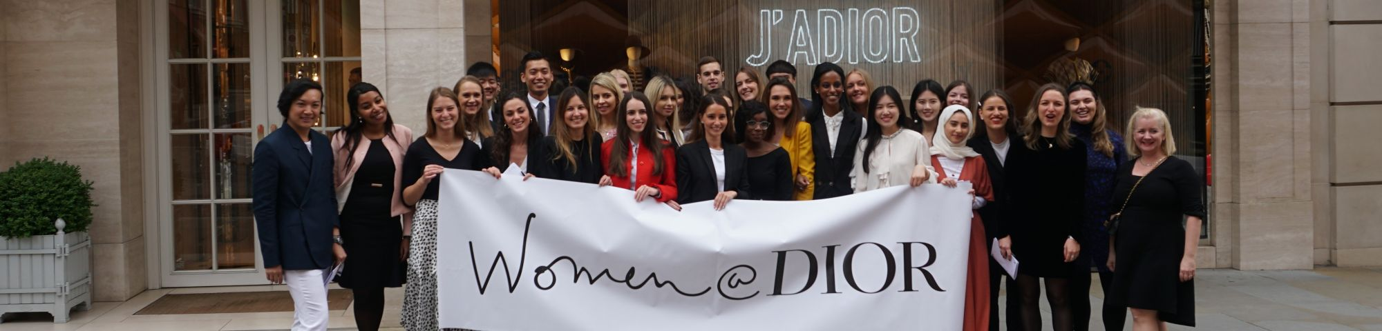 Women@Dior mentees and mentors group photo