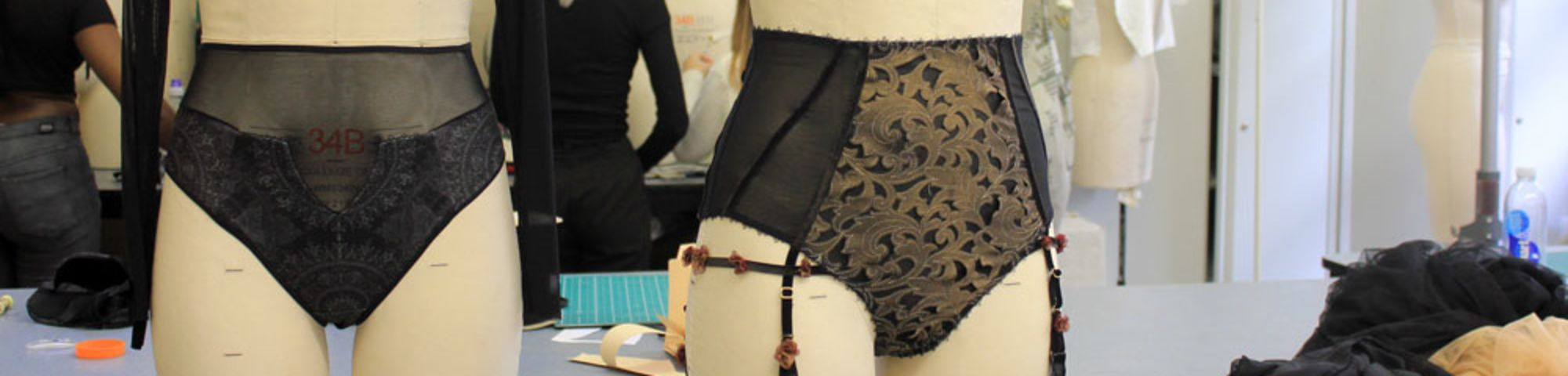 BA Fashion Contour students' shortlisted work