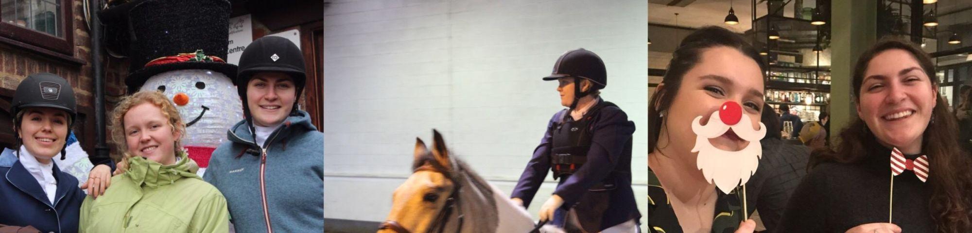 Equestrian club banner
