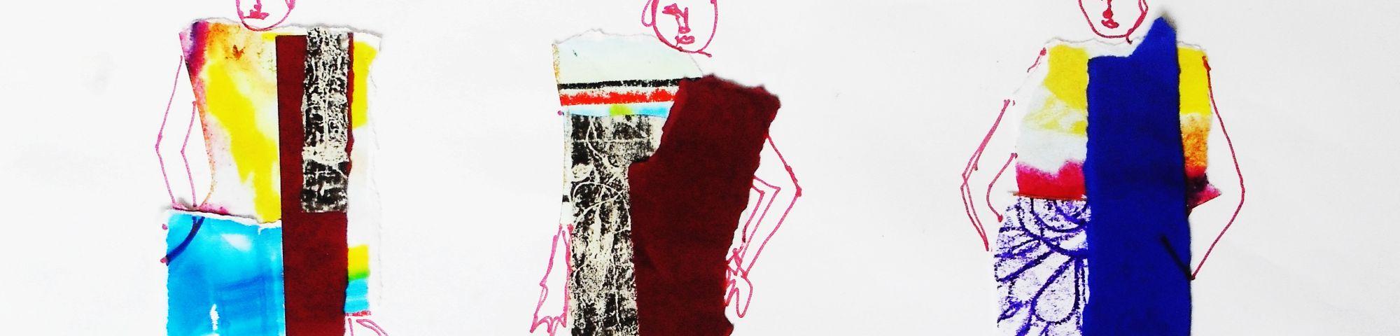 © Birgitte Kriek, Fashion Drawing Summer School work