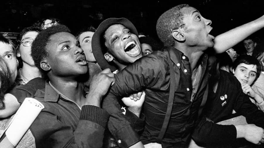 Rock Against Racism photo by Syd Shelton