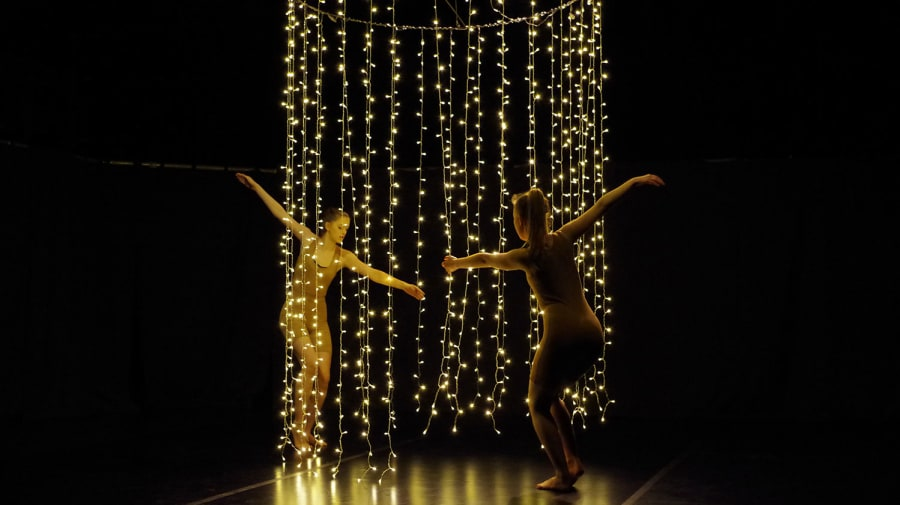 Design for dance collaboration between Wimbledon College of Arts and Middlesex University students.