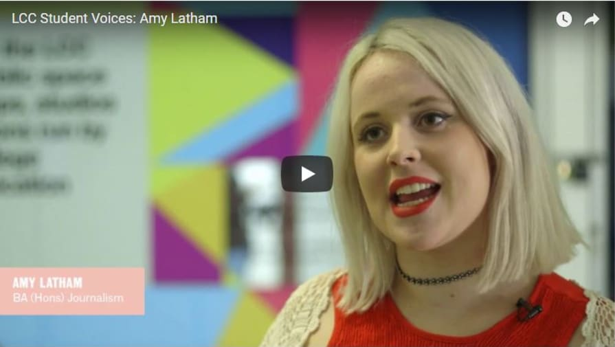 Student Voices: Amy Latham