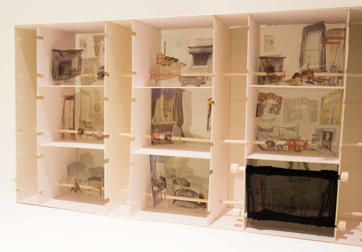 (Doll)houses – A Collaborative Project with the Foundling Museum by Rahaf Alsubaie
