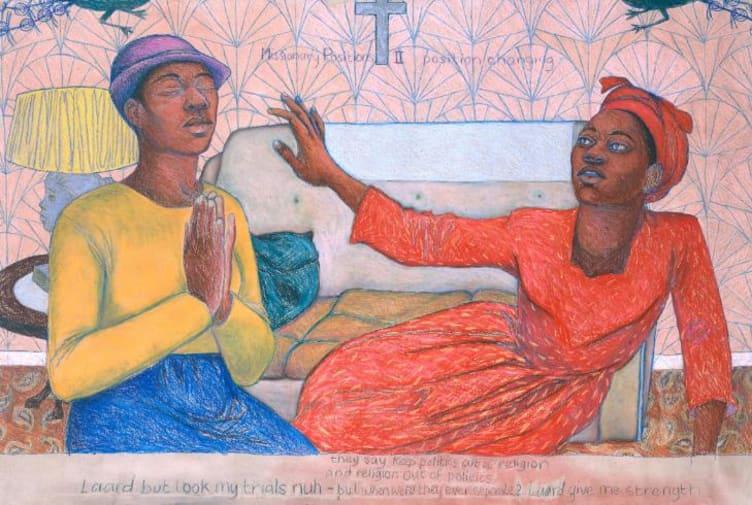 Missionary Position II 1985 by Sonia Boyce born 1962
