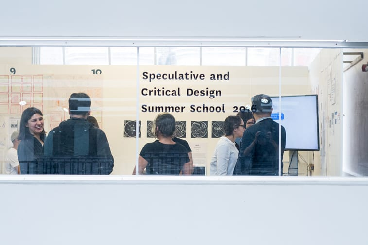 Speculative and critical design summer school 2016