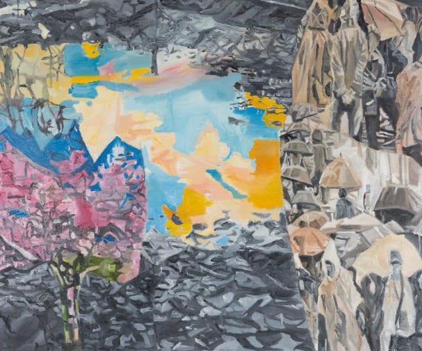 Jasmir Creed 'Pool of Life' 2018 oil on canvas 150 x 120 cm