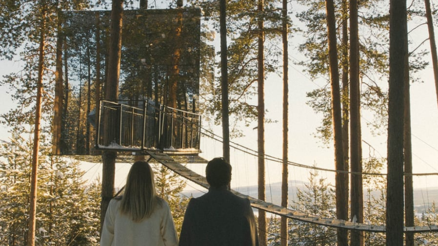 Still from film – girl and loneliness outside the treehouse