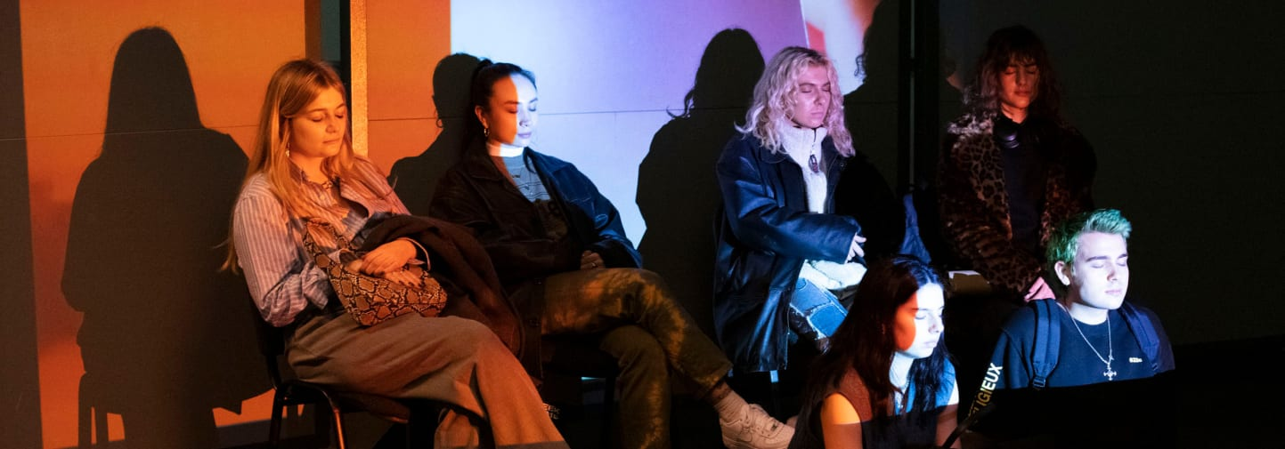 LCF students engage in knowledge exchange with creative agency Superimpose Global