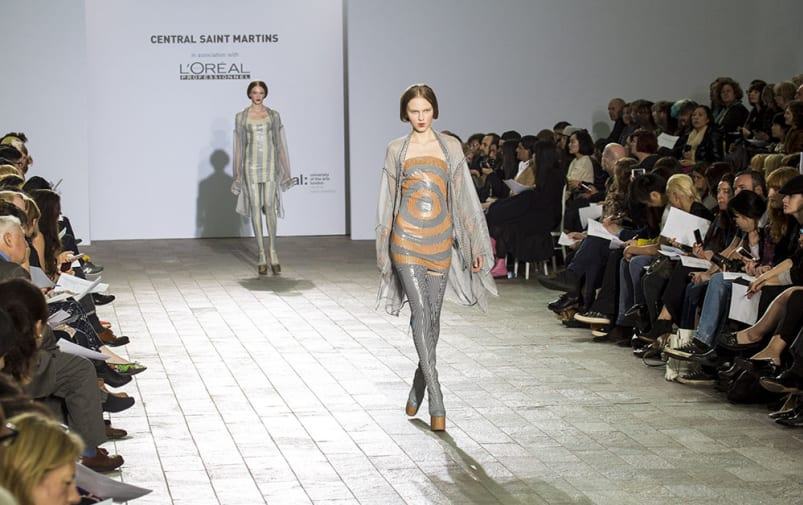 Central Saint Martins BA Fashion Show 2013, in The Crossing, King's Cross