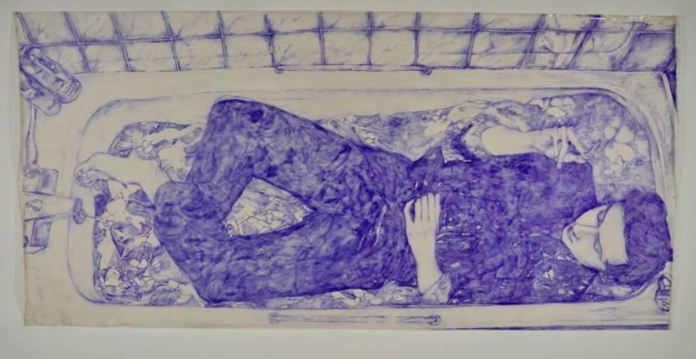 """""""Sid in Bathtub"""" by Anna Sofie Jespersen"""