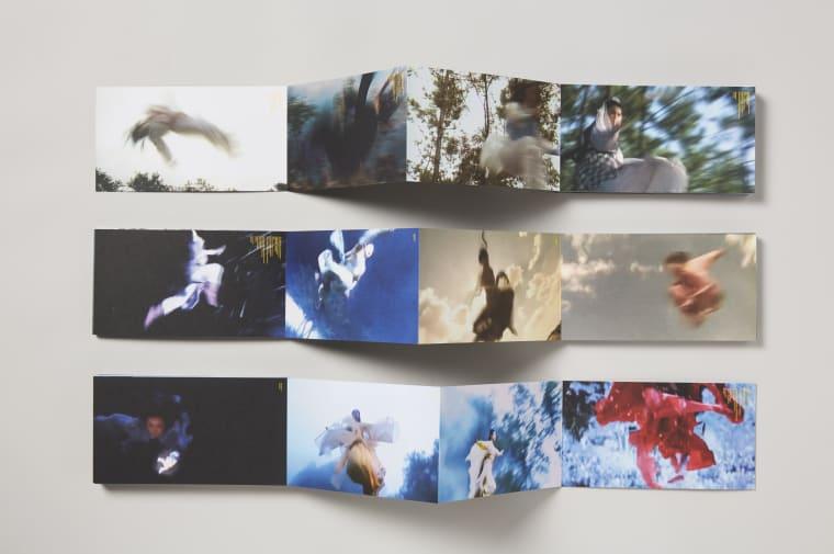susan pui san lok, RoCH Fan, 2015, concertina multiple, edition of 200, 8415mm x 102mm x 187mm (detail). Photo by Marc Atkinson