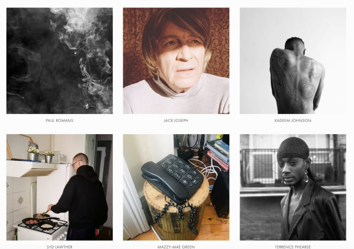 Grid of photographs