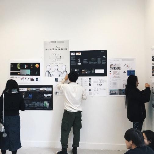 BA Interior & Spatial Design Work in Progress Show