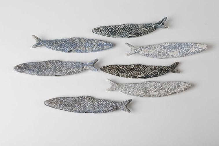 2013 Ceramics graduate Rafael Atencia's 'Sardines'