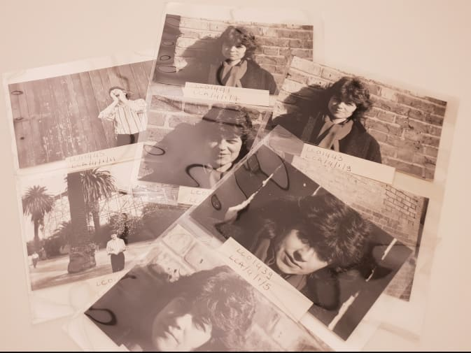 Photographs of Lindsay Cooper from her archive