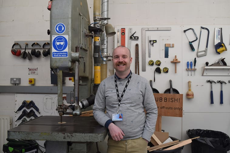 3D Support Technician Jonathan Armistead