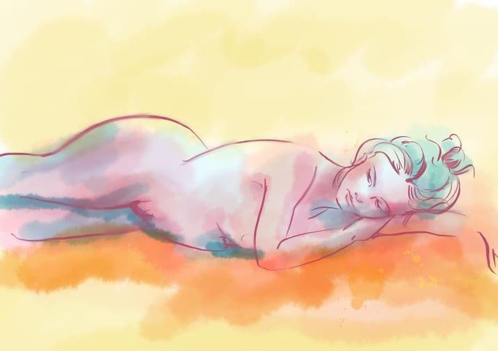 Dani Marsh drawing illustration