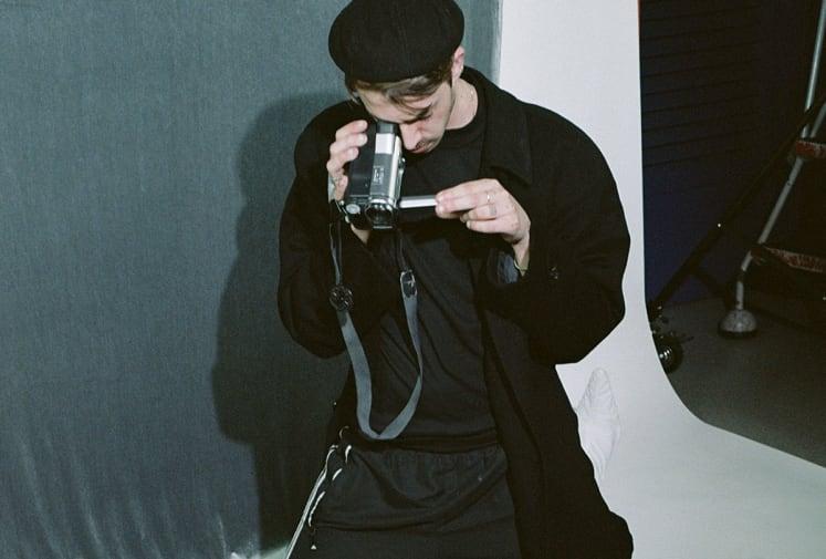 pablo taking a photo