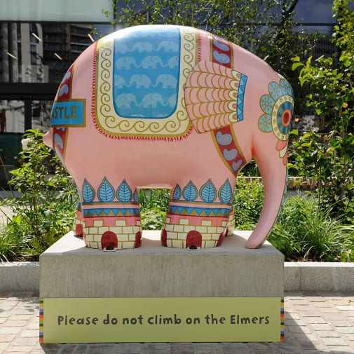 Elmet The Elephant by LCC