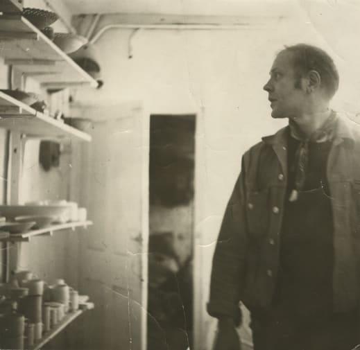 Ian Godfrey, ceramicist (1942-1992).