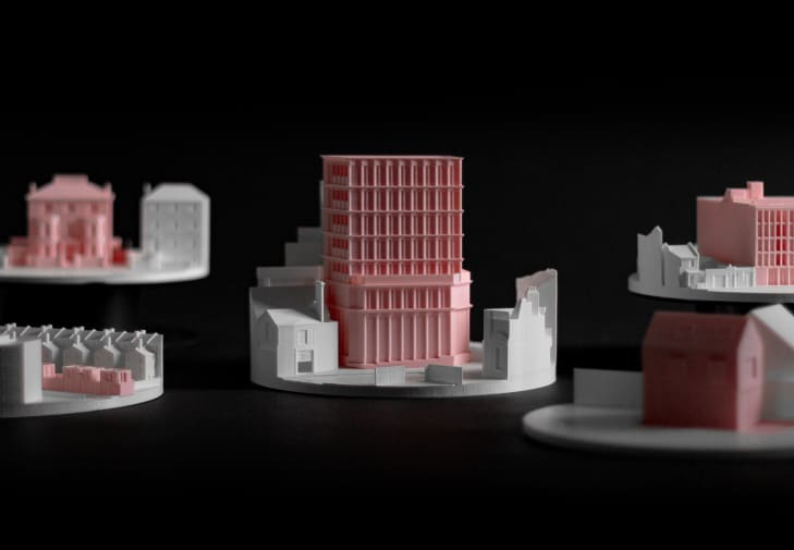 Theo Jones 3d architecture Model