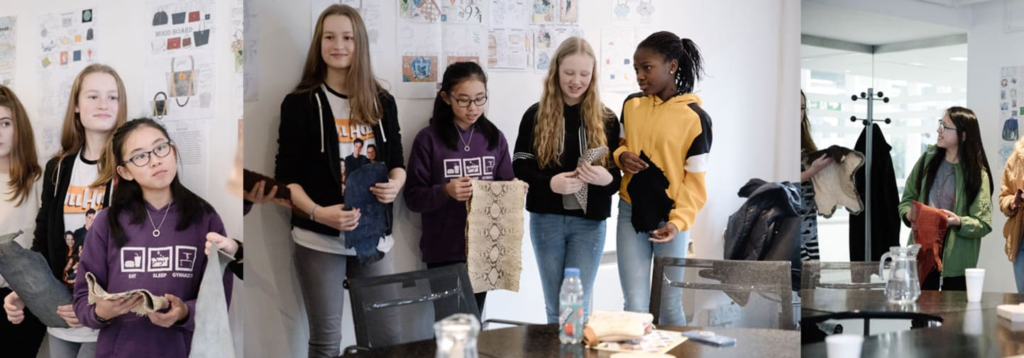 Bags of Talent Competition Winners Visit LCF