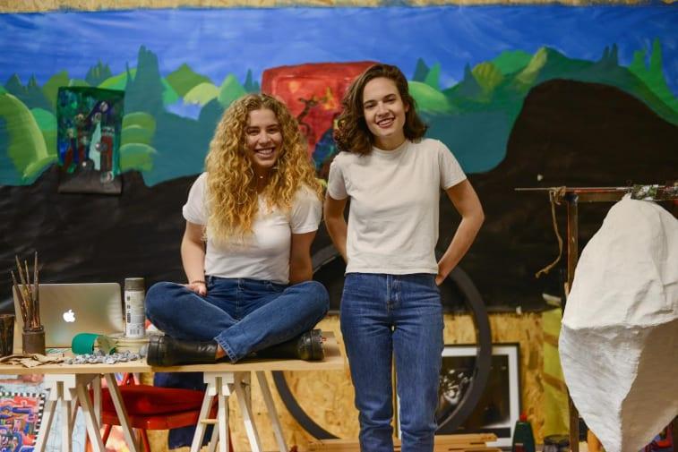 Marta and Giorgia