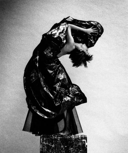 Rubbish-Bag-Ball-Skirt-from-the-Second-Life-Collection-1990,-Photograph-Platon