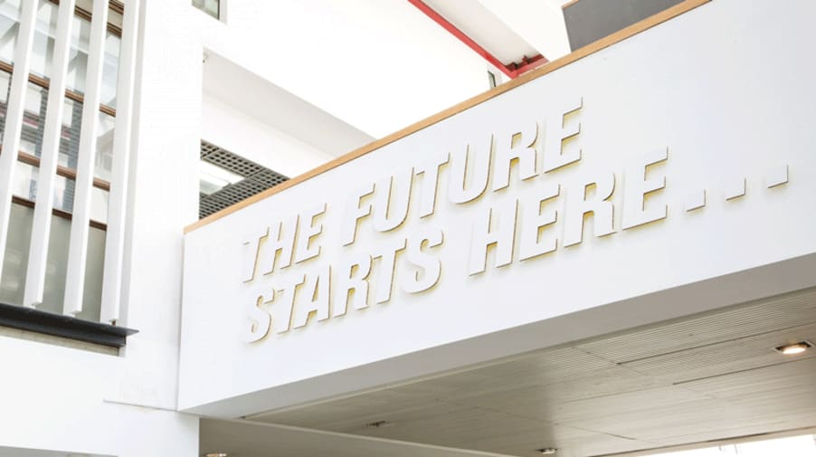 London College of Communication Degree Shows Signage 2016. 2