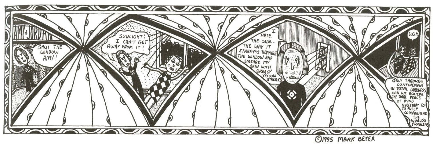Extract from a comic held in the Les Coleman collection.