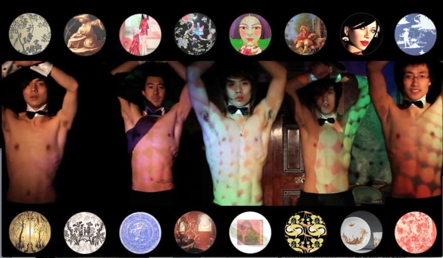 Still image of Chinese Chippendale perofrmance