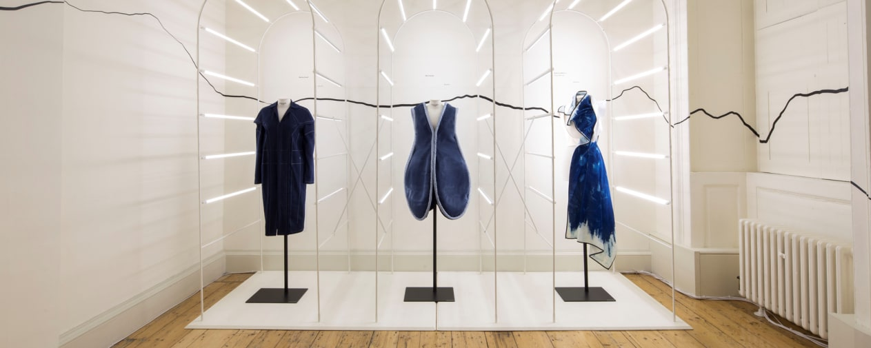 International Fashion Showcase work at Somerset House