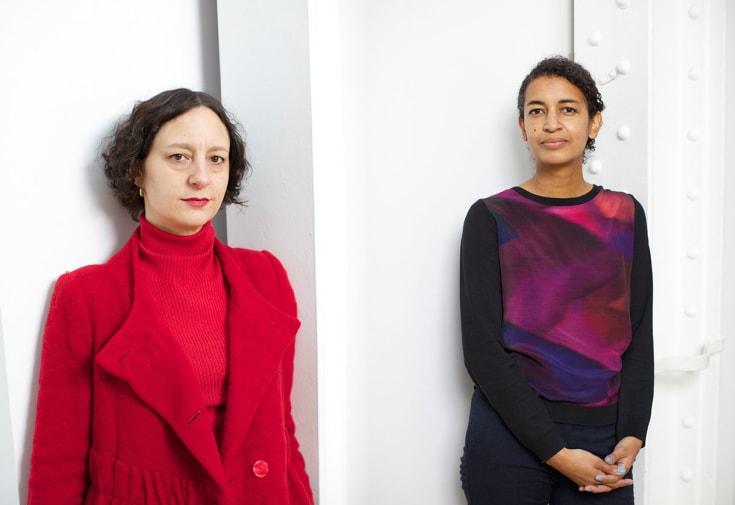 Bonnie Camplin (left) and Katrina Palmer (right) © Andy Paradise