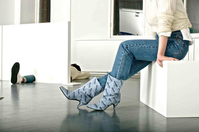 Rumorz Kitten Heel Boots