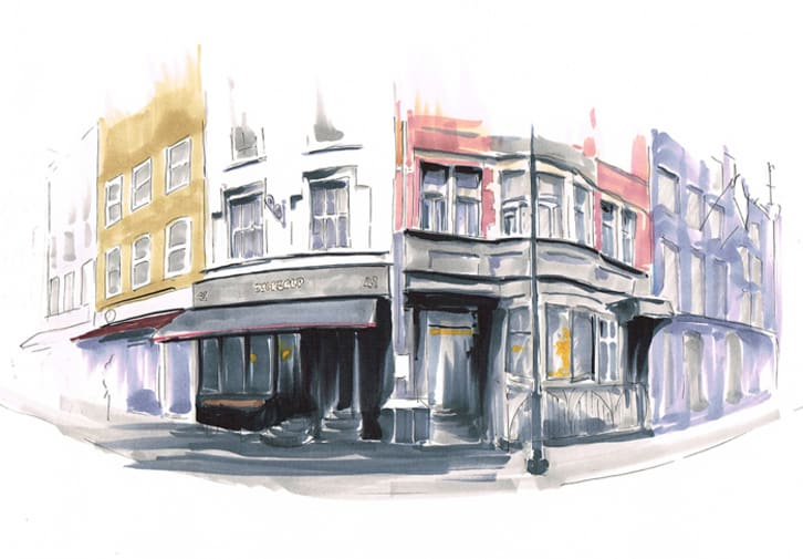 Ewelina Terczynska (FdA Illustration) – Disappearing London