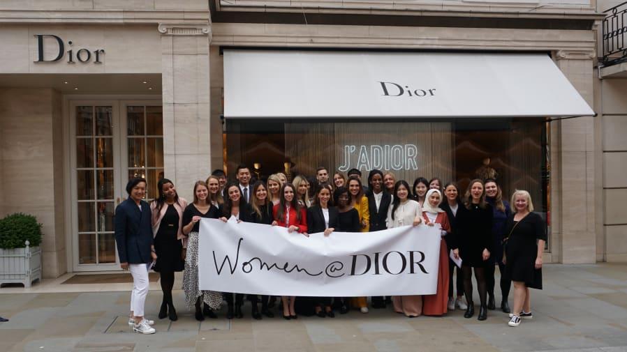 Women@Dior mentees and mentors group photo