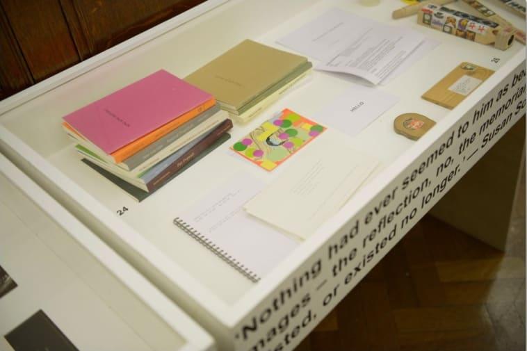 Ephemera Display Cabinet