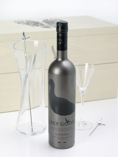 The Ultimate Grey Goose Martini Gift Set with design by JP Braganza