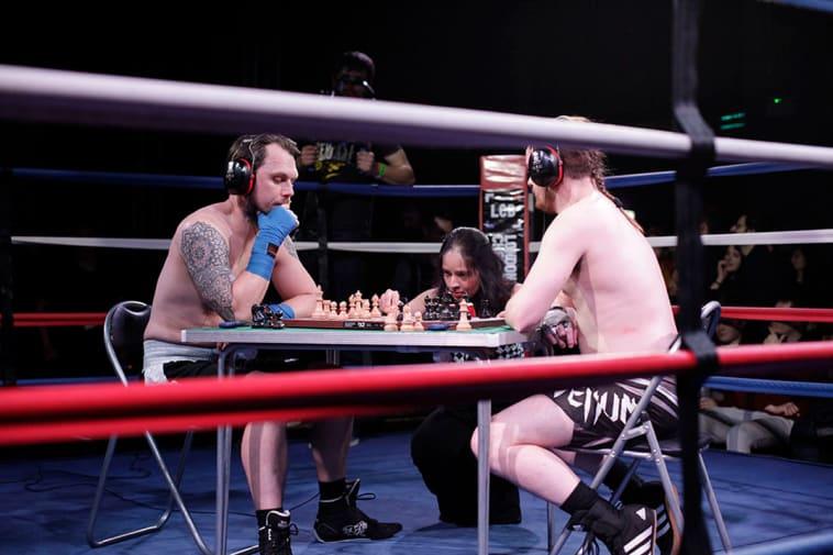 chess boxing match