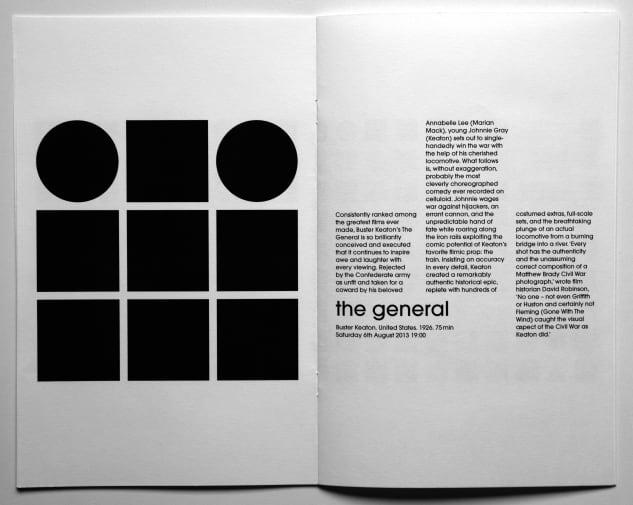 5 page booklet Manhattan Mono