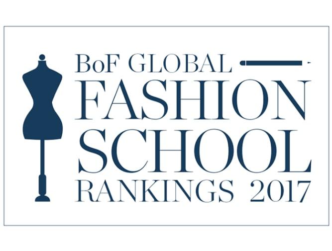 Business of Fashion school rankings.