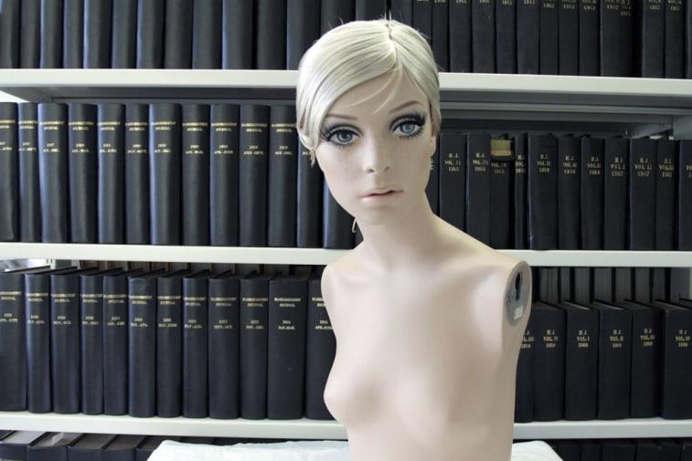 Twiggy-Mannequin