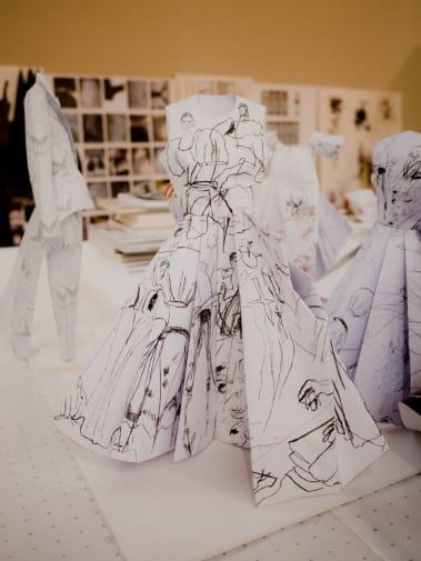 Paper maquette
