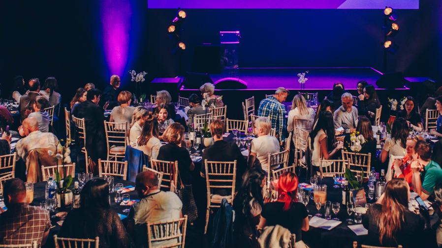 Photo of the Creative Enterprise Awards event