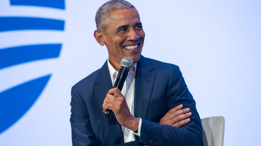 Photo of Barak Obama