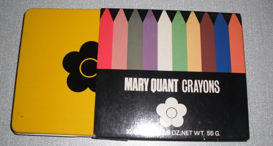 Mary Quant Crayons circa 1960s